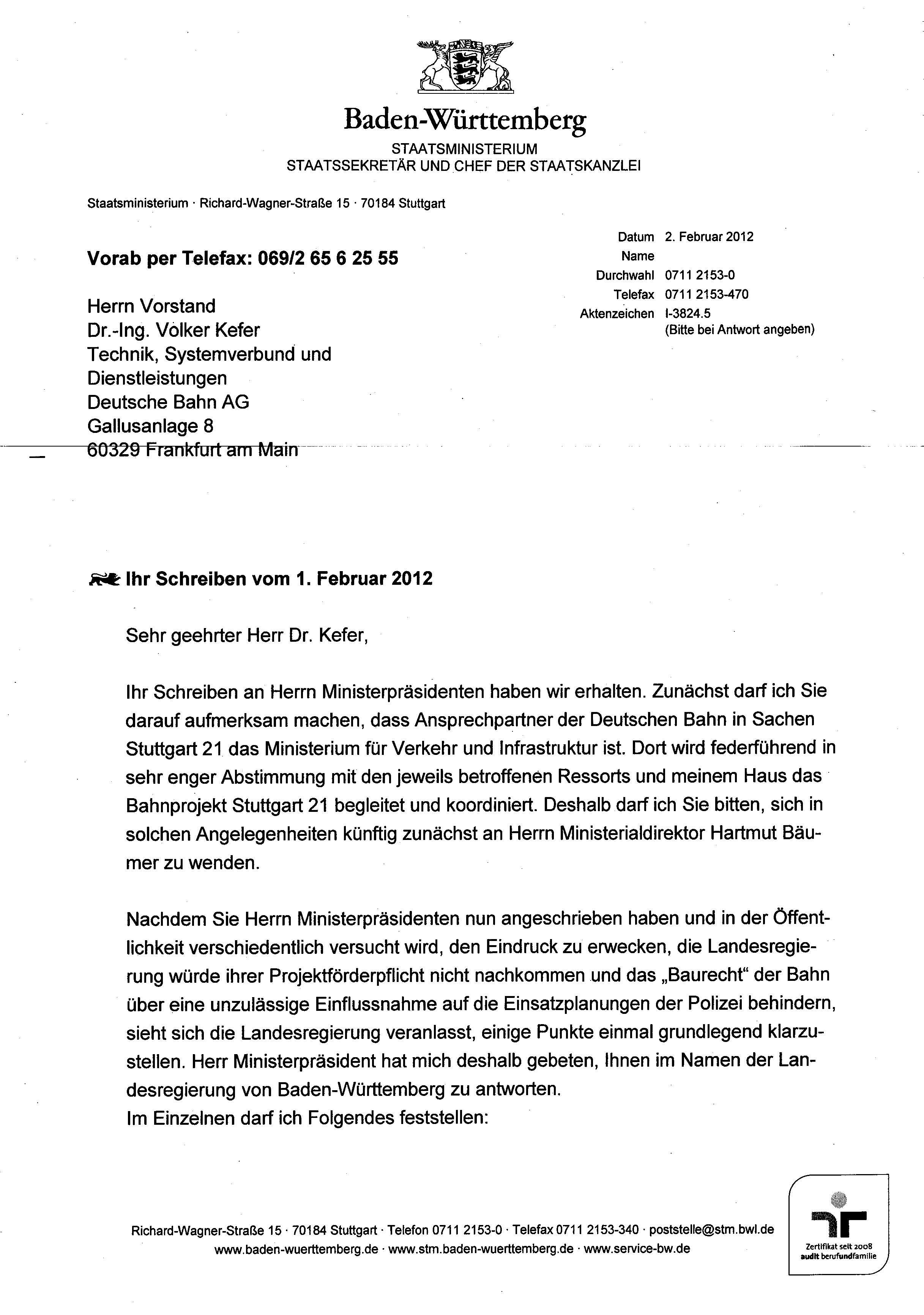 Polizeibrief