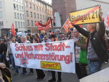 Stgt. Gruppe bei Blockupy