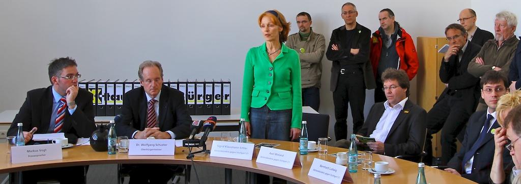 Bürgerbegehren 2011 ©weiberg