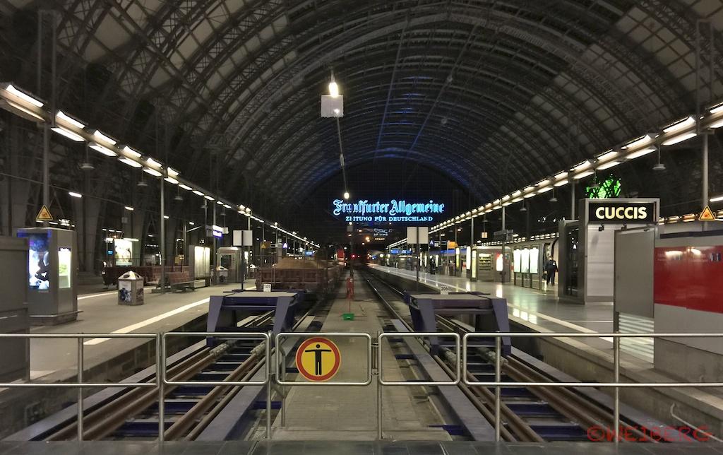 Bahn-Streik ©weiberg