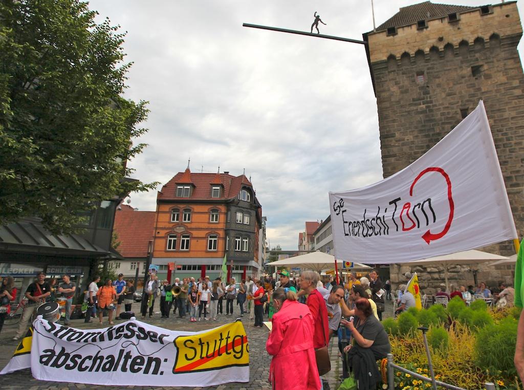 Besuch von Oettinger in Esslingen 2012 ©weiberg