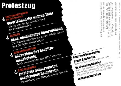 Flyer_191.MoDemo_3.JahrestagSchwarzerDonnerstag_2013-09-30_Rueckseite