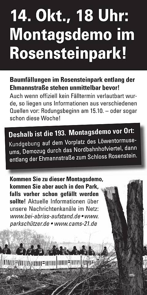 Flyer_193.MoDemo_Rosensteinpark_Vorderseite_480
