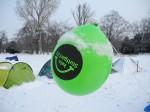 Grüne Luftblase