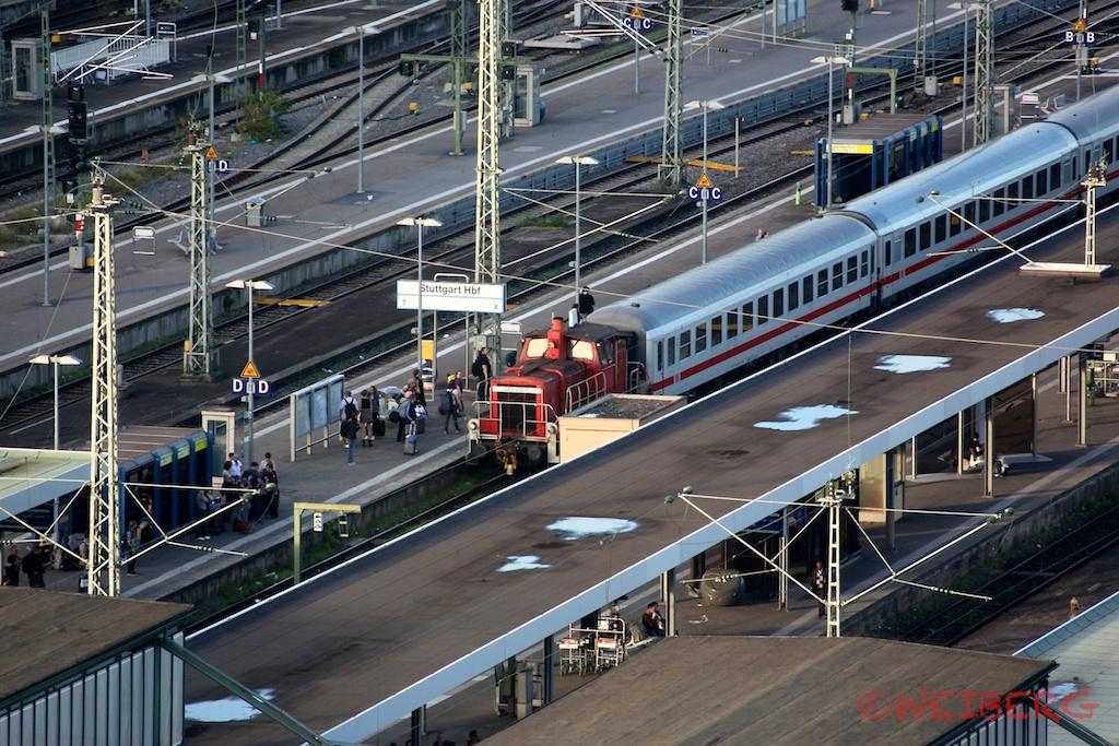 HBF Stuttgart 2014 ©weiberg
