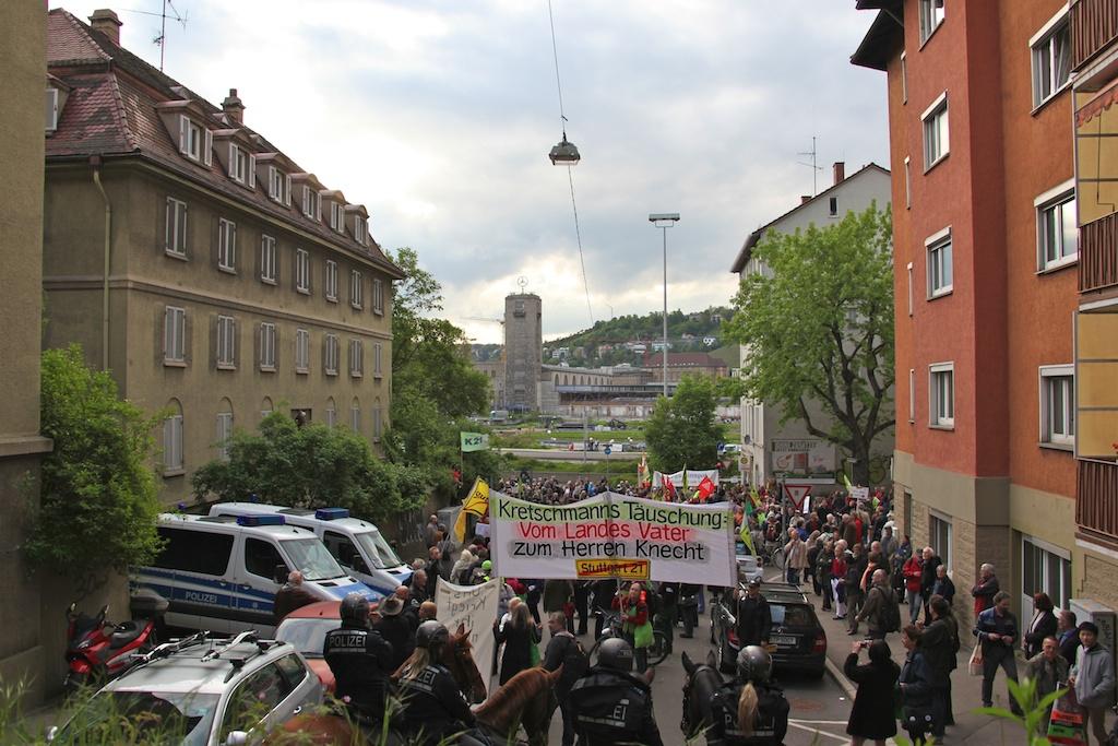 Haus-Enteigung Sängerstrasse ©weiberg