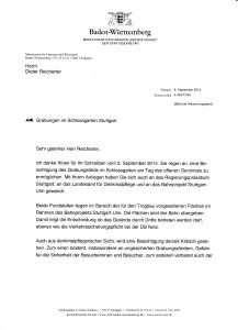 Ministerium vs Reicherter
