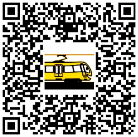 neue aufkleber qr code gegen stadtbahn sperrungen bei. Black Bedroom Furniture Sets. Home Design Ideas