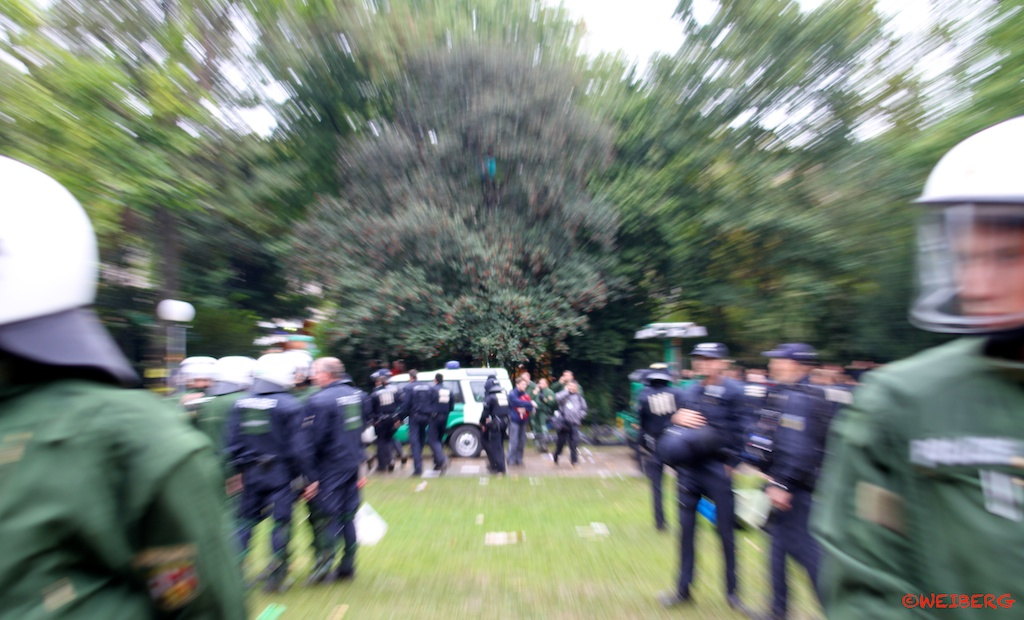 S21 Polizeieinsatz ©weiberg