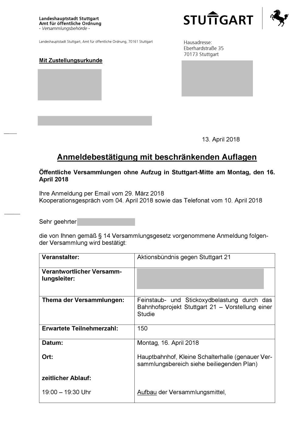 Amt Für öffentliche Ordnung Stuttgart