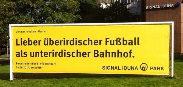 Vfb Stuttgart Und Stuttgart 21 Bei Abriss Aufstand