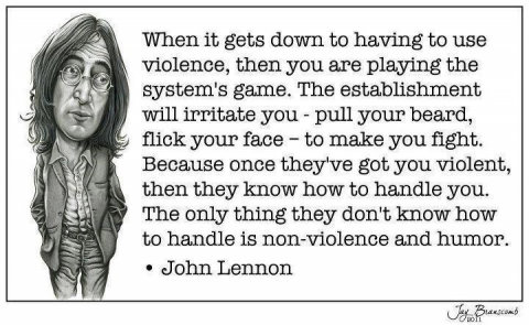 john-lennon-on-violence